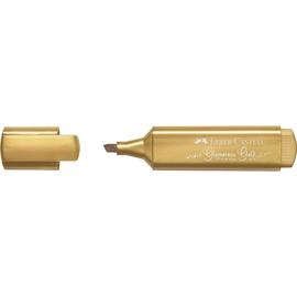 Textmarker TL 46 Metallic Keilspitze gold Faber Castell 154650 Produktbild