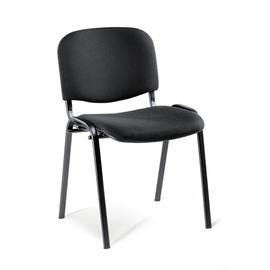 Besucherstuhl ISO Gestell schwarz Farbe schwarz Deskin 130978 Produktbild