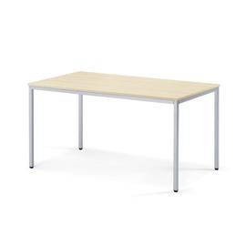 Schreibtisch BASE-MODUL 140x70x72cm 4-Fuß-Gestell ahorn Deskin 258769 Produktbild