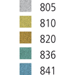 Fasermaler Pen 68 Metallic Kunststoff- Etui 1,4mm Rundspitze sortiert Stabilo 6808/8-11 (ETUI=8 STÜCK) Produktbild Additional View 7 S