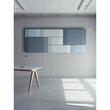 Akustik-Wandboard Sound Balance Stoff hellblau 120x40x6,5cm Sigel SB212 Produktbild Additional View 1 S