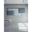 Akustik-Wandboard Sound Balance Stoff dunkelgrau 120x81x6,5cm Sigel SB220 Produktbild Additional View 1 S