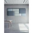 Akustik-Wandboard Sound Balance Stoff hellblau 120x81x6,5cm Sigel SB222 Produktbild Additional View 1 S
