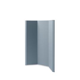 Akustik-Raumtrenner Sound Balance Stoff dunkelgrau 100x140x5cm Sigel SB400 Produktbild