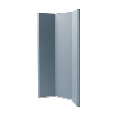 Akustik-Raumtrenner Sound Balance Stoff dunkelgrau 100x180x5cm Sigel SB410 Produktbild