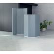 Akustik-Raumtrenner Sound Balance Stoff dunkelgrau 100x180x5cm Sigel SB410 Produktbild Additional View 1 S