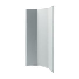 Akustik-Raumtrenner Sound Balance Stoff hellgrau 100x180x5cm Sigel SB411 Produktbild
