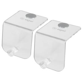 Flipchart Haken für Akustik-Serie Acryl transparent 6x6x6,3cm Sigel SB700 (PACK=2 STÜCK) Produktbild