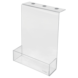 Aufbewahrungsbox für Akustik-Serie Acryl transparent 22x30x6cm Sigel SB710 Produktbild