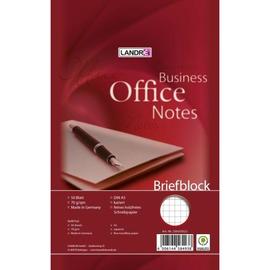Briefblock Office A5 kariert 50Blatt 70g holzfrei weiß Landré 100050269 Produktbild