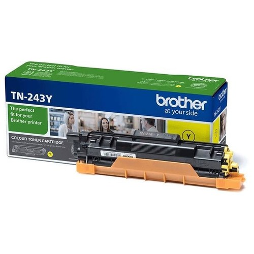 Toner für Brother DCP-L3500/HL-L3200/ MFC-L3700 1.000Seiten yellow Brother TN-243Y Produktbild Front View L