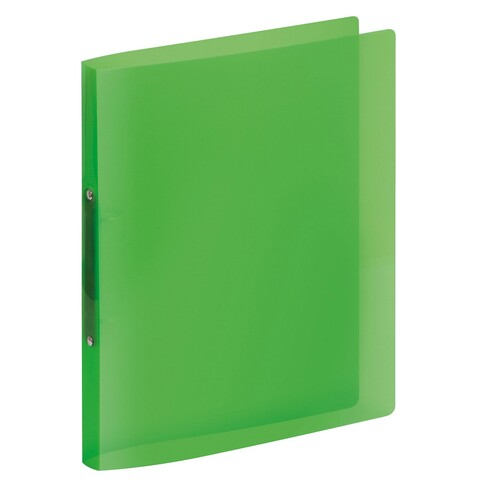Ringbuch PROPYGLASS® A4 2Ringe 20mm grün Veloflex V020242 Produktbild