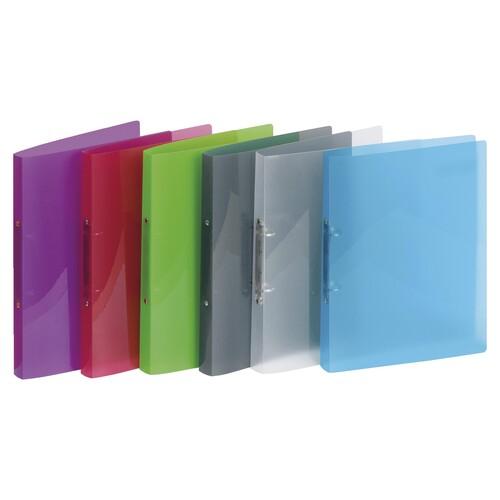 Ringbuch PROPYGLASS® A4 2Ringe 20mm grün Veloflex V020242 Produktbild Additional View 1 L