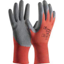 Handschuh Eco Grip Größe 10 grau/rot GEBOL 709691 (PAAR=2 STÜCK) Produktbild