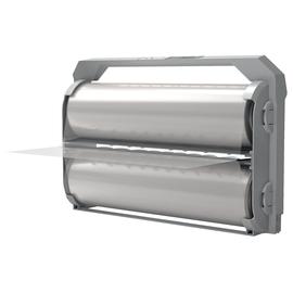 Laminierfilm Kassette Foton 30 75µ 56,4m glänzend glasklar GBC 4410012 (PACK=1 ROLLE) Produktbild