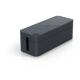 Kabelbox CAVOLINE Box S für eine 3-fach Steckdosenleiste 24,6x11,6x12,8cm graphit Durable 5035-37 Produktbild