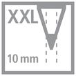 Multitalent-Stift woody 3 in 1 ARTY + Spitzer 10mm Mine sortiert Stabilo 8806-1-20 (ETUI=6 STÜCK) Produktbild Additional View 1 S