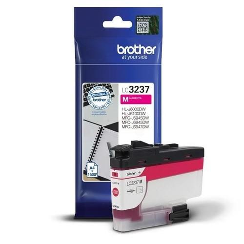 Tintenpatrone für MFC-J5945DW/ MFC-J6945DW 1500Seiten magenta Brother LC-3237M Produktbild Front View L