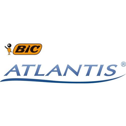 Kugelschreiber Atlantis ReAction 0,4mm blau Bic 8575472 Produktbild Additional View 4 L