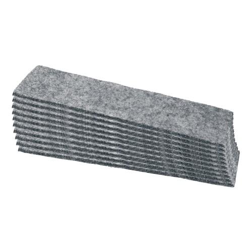 Tafelwischer für agiles Whiteboard 14,5x4,4x3,7cm anthrazit magnetisch Sigel MU204 Produktbild Front View L