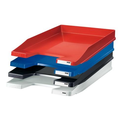 Briefkorb JUNIOR für A4 255x38x348mm blau Kunststoff HAN 1025-14 Produktbild Additional View 2 L