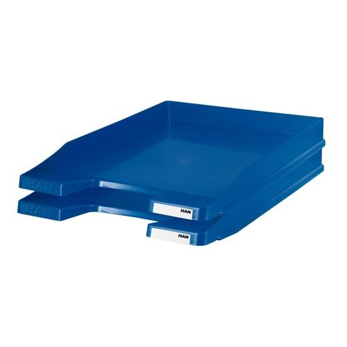 Briefkorb JUNIOR für A4 255x38x348mm blau Kunststoff HAN 1025-14 Produktbild Additional View 1 L