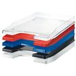 Briefkorb JUNIOR für A4 255x38x348mm transparent-glasklar Kunststoff HAN 1025-23 Produktbild Additional View 2 S
