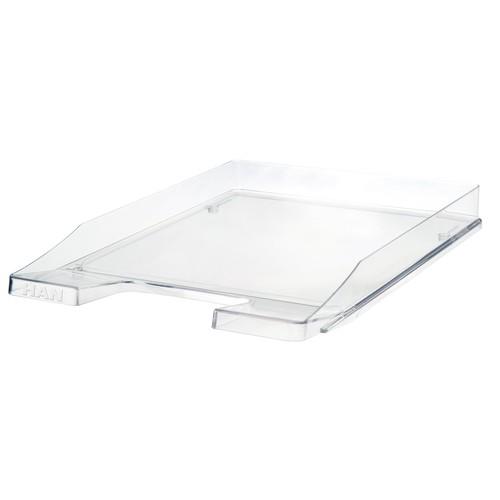 Briefkorb JUNIOR für A4 255x38x348mm transparent-glasklar Kunststoff HAN 1025-23 Produktbild