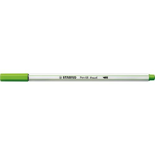 Fasermaler Pen 68 brush Pinselspitze laubgrün Stabilo 568/43 Produktbild Additional View 1 L