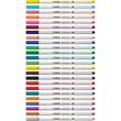 Fasermaler Pen 68 brush Pinselspitze laubgrün Stabilo 568/43 Produktbild Additional View 7 S