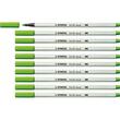 Fasermaler Pen 68 brush Pinselspitze laubgrün Stabilo 568/43 Produktbild Additional View 2 S