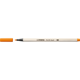 Fasermaler Pen 68 brush Pinselspitze orange Stabilo 568/54 Produktbild