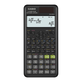 Taschenrechner 3-zeiliges Display 502 Funktionen 11,1x161x80mm Solar-/ Batteriebetrieb Casio FX-87 DE PLUS-2nd Produktbild