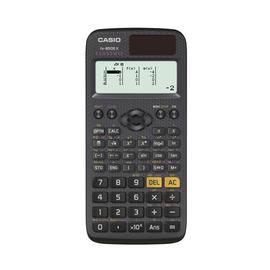 Taschenrechner 2-zeiliges Display 325 Funktionen 11,1x77x166mm Solar-/ Batteriebertieb Casio FX-85 DE X Produktbild