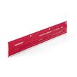 Schneidelineal PRO 30cm rot Aluminium Transotype 17803006 Produktbild