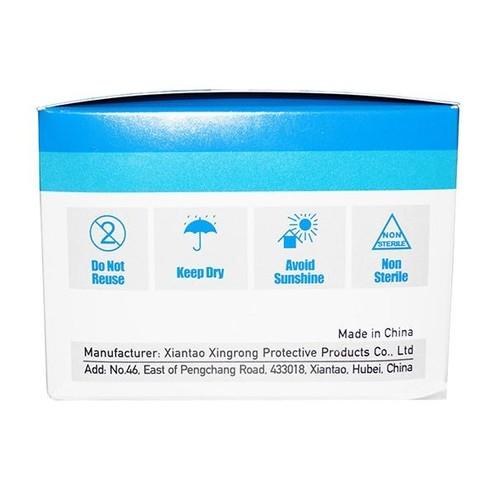 Mund- und Nasenmaske / OP-Maske 3-lagig zertifiziert EN14683:2014 Typ II Produktbild Additional View 4 L
