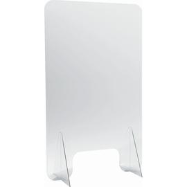 Hygieneschutzwand 60x100cm Durchreiche: 30x15cm Acryl glasklar Helit H6816102 Produktbild
