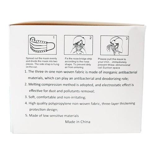 Mund- und Nasenmaske 3-lagig zertifiziert nach EN149 CE Produktbild Additional View 3 L