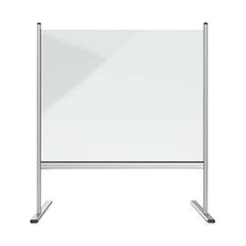 Hygieneschutzwand 83,9x92,7cm Fußmaß (Tiefe) 62cm je Seite Acryl glasklar Magnetoplan 1102880 Produktbild