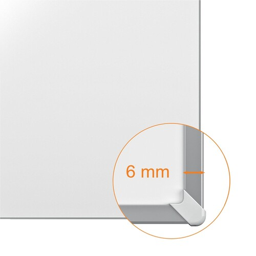 Whiteboard Classic 450x300mm magnetisch weiß magnetisch Nobo 1905215 Produktbild Back View L
