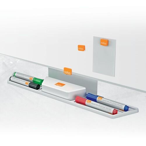 Whiteboard Classic 450x300mm magnetisch weiß magnetisch Nobo 1905215 Produktbild Default L