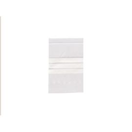 LDPE Druckverschlussbeutel transparent 120 x 170mm / 50µ / Stempelfeld (PACK=100 STÜCK) Produktbild
