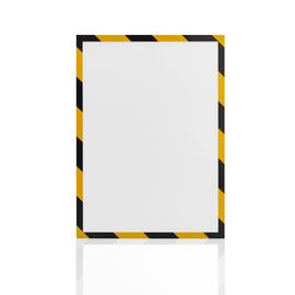Magnetrahmen magnetofix SAFETY A4 gelb/schwarz Magnetoplan 1131442 (PACK=5 STÜCK) Produktbild