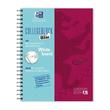 Collegblock Oxford Touch A4+ European- book 120 Blatt kariert beere incl. Whiteboard 400132984 Produktbild