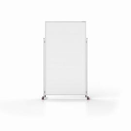 Hygiene und Sicherheits-Raumteiler Evolution mobil 100x200cm Fußmaß (Tiefe) 465mm je Seite Magnetoplan 11038210M Produktbild