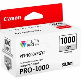 Tintenpatrone PFI-1000PGY für Canon IPF 1000 80ml FOTOgrau Canon 0553C001 Produktbild