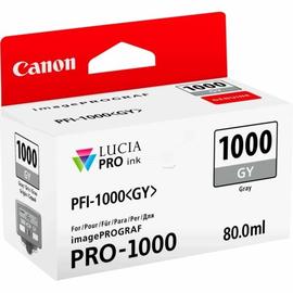 Tintenpatrone PFI-1000GY für Canon IPF 1000 80ml grau Canon 0552C001 Produktbild