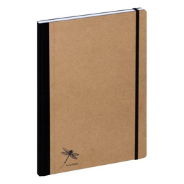 Notizbuch Pur A4 kariert natur Pagna 26087-11 Produktbild