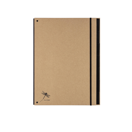 Pultordner 7 Fächer A4 Pur natur Graukarton Pagna 44007-11 Produktbild