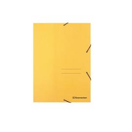 Eckspanner A4 für 250Blatt gelb RC-Karton Produktbild
